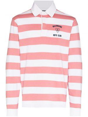 Розовая длинная рубашка Billionaire Boys Club