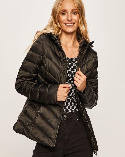 Прямая черная облегченная стеганая куртка Ea7 Emporio Armani