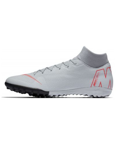 Серые бутсы Nike