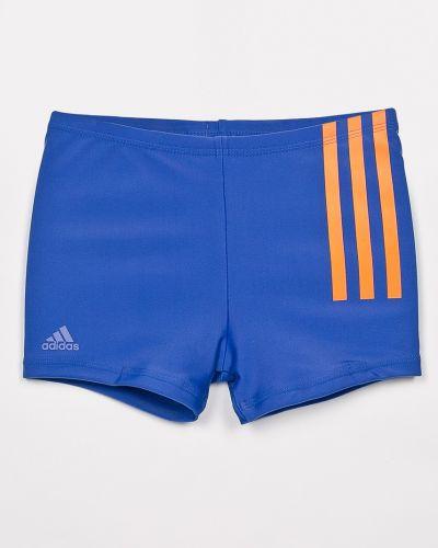 Плавки с узором синие Adidas Performance