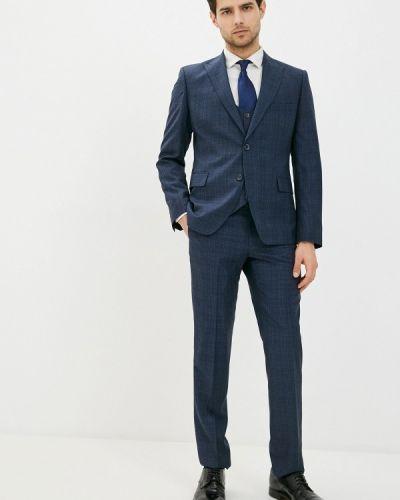Костюмный синий костюм классический Mason Grace