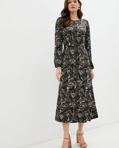 Прямое серое платье Ichi