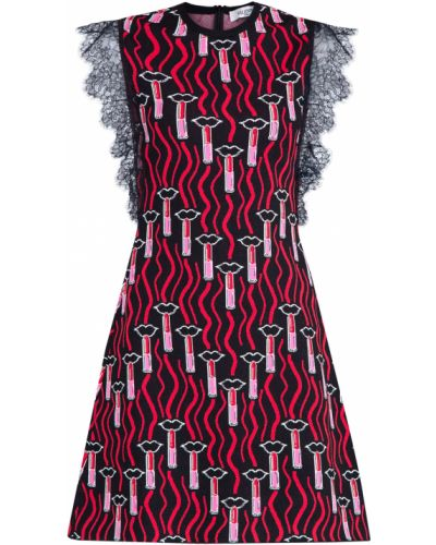 Платье приталенное в рубчик Valentino