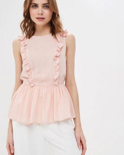 Блузка без рукавов розовая весенний Prio