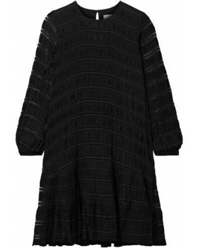 Платье на пуговицах - черное Anine Bing