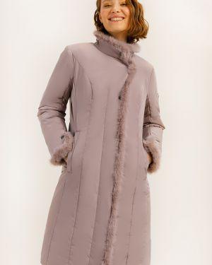 Утепленная куртка норковая с подкладкой Finn Flare