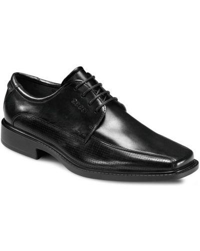 Классические туфли черный легкие Ecco