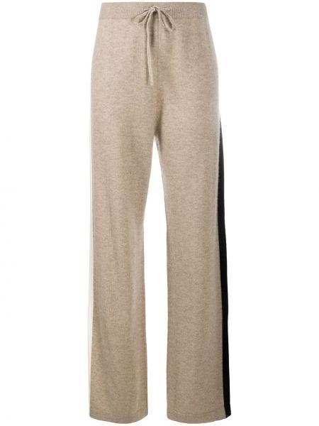 Свободные кашемировые брюки с карманами свободного кроя Chinti & Parker