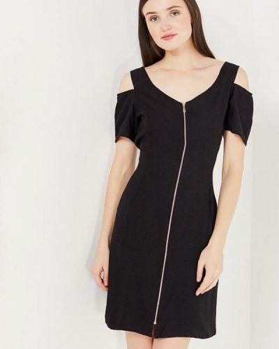 Прямое черное платье Relax Mode