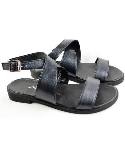 Кожаные сандалии - черные Milli Gold