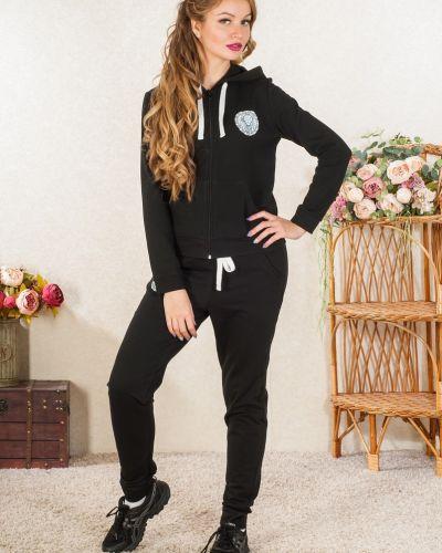 Домашний костюм из футера с капюшоном Lena Basco