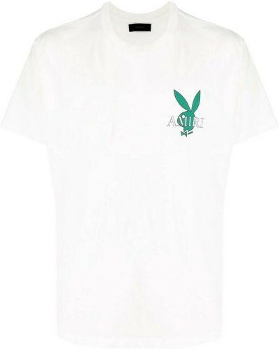 Biała t-shirt Amiri