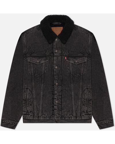 Серая куртка из полиэстера Levi's®