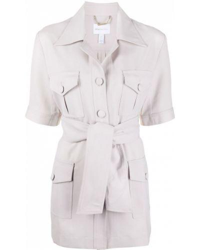 Однобортный пиджак с короткими рукавами на пуговицах Alice Mccall