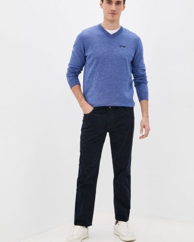 Пуловер - голубой Galvanni
