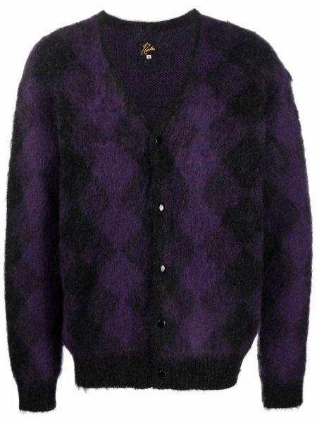 Czarny sweter moherowy Needles