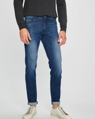 Джинсы-скинни делаве на пуговицах Trussardi Jeans