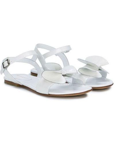Белые сандалии с бантом Montelpare Tradition
