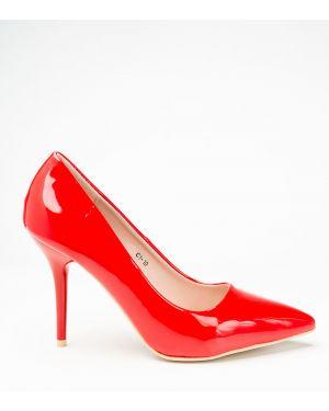 Красные туфли новогодние Meitesi