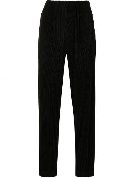 Черные брюки на шпильке Giorgio Armani