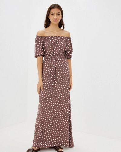Платье с открытыми плечами Maison De La Robe