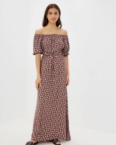 Платье - коричневое Maison De La Robe