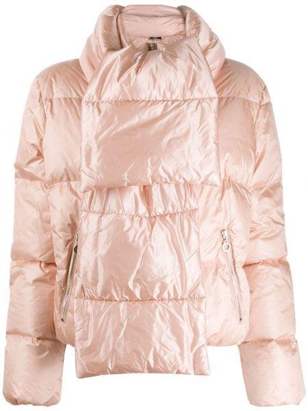 Стеганая куртка укороченная с карманами Liu Jo