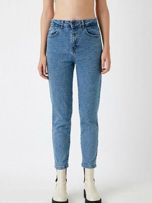 Зауженные джинсы - синие Koton