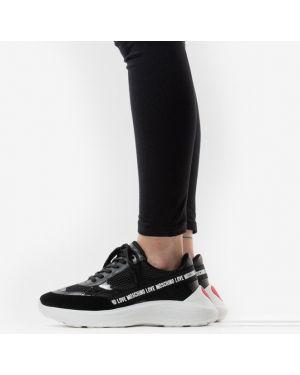 Кроссовки для бега черные Love Moschino