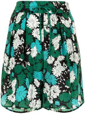 Зеленые шорты с принтом Paul Smith