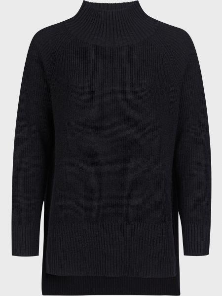 Шерстяной свитер - черный Kontatto
