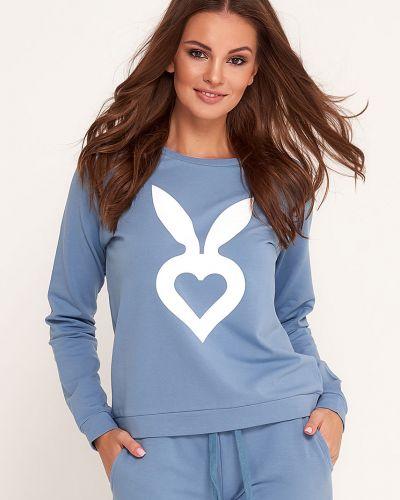Кофта с капюшоном с принтом Cardio Bunny