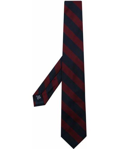 Красная шелковая резинка для волос Polo Ralph Lauren