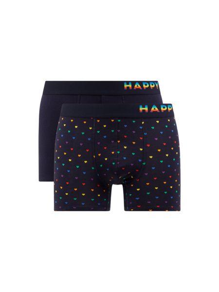Czarne majtki szorty bawełniane Happy Shorts