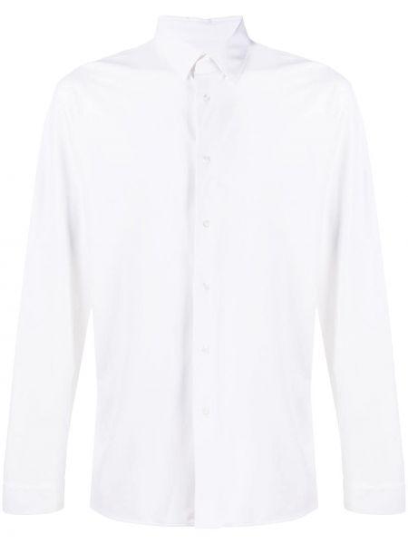 Klasyczna biała klasyczna koszula z długimi rękawami Hydrogen