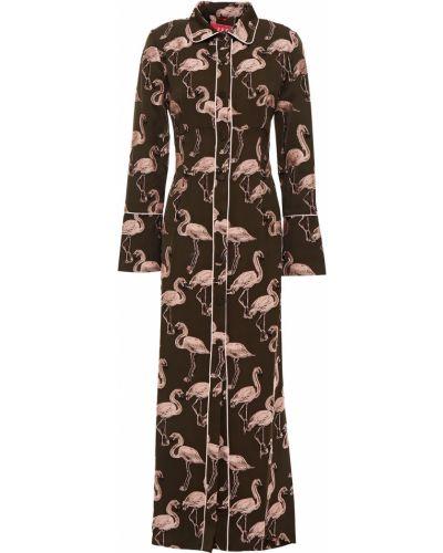 Ażurowa sukienka midi z wiskozy F.r.s For Restless Sleepers