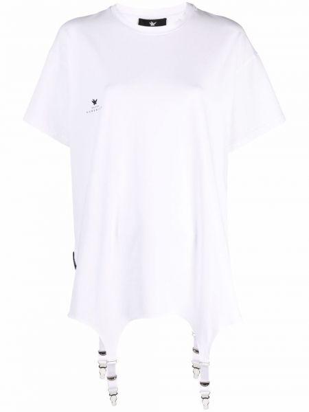 Белая футболка с короткими рукавами Maison Bohemique