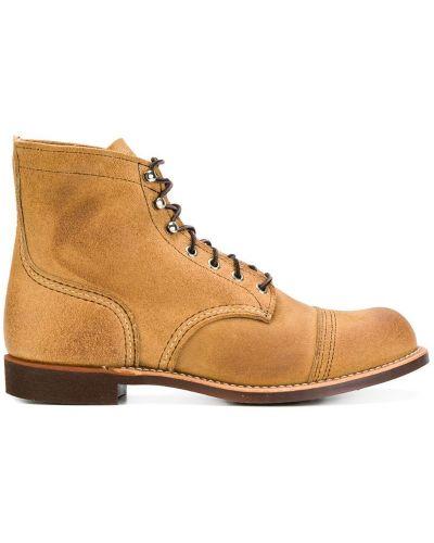 Полуботинки на шнуровке - коричневые Red Wing Shoes