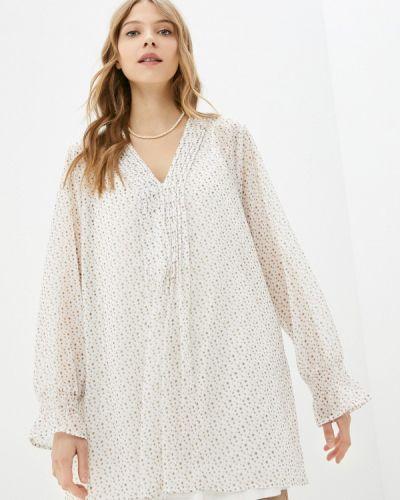 Белая блузка Ulla Popken