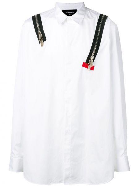Koszula z długim rękawem klasyczna długa Dsquared2