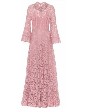 Вечернее платье розовое мини Valentino