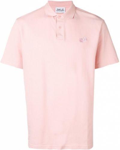 Классическая розовая рубашка с короткими рукавами на пуговицах Band Of Outsiders