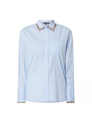 Niebieska bluzka w paski bawełniana Risy & Jerfs