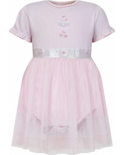 Нарядное розовое платье Kissy Kissy