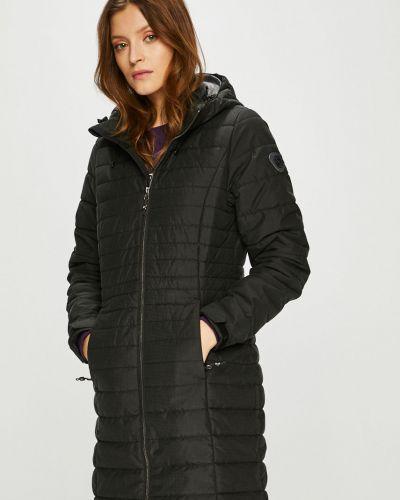 Куртка с капюшоном утепленная черная Killtec