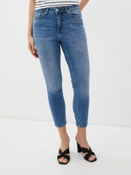 Синие джинсы-скинни с пайетками Ichi