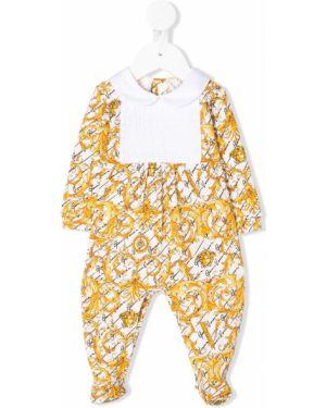 Пижама белая желтый Young Versace