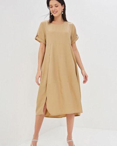Повседневное платье бежевое Vis-a-vis