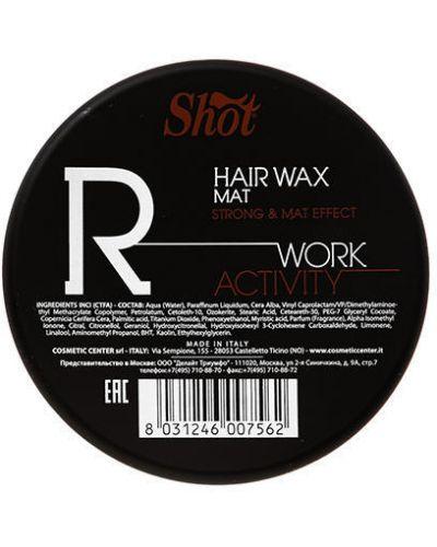 Воск для укладки волос Shot