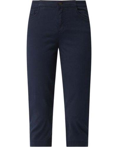 Niebieskie spodnie rurki bawełniane Brax